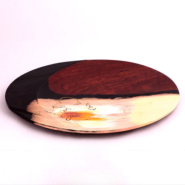 Peter Carrigy - SCRIBBLY BARK PLATTER